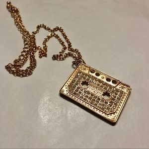Gold Cassette Necklace